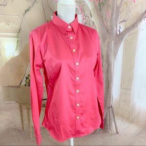 NEW Banana Republic Pink Button Down Shirt